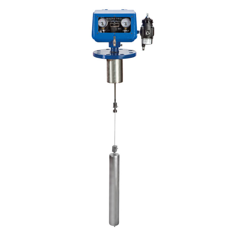 Modulevel® Pneumatic displacer liquid level control